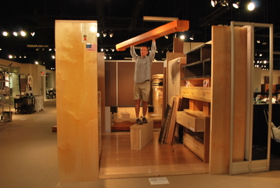 Trade Show Booths Sing Honeycomb